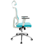 Офисное кресло GT Racer X-W50 White/Blue