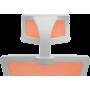 Офисное кресло GT Racer X-W50 White/Orange