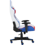 Геймерское кресло GT Racer X-2530 White/Blue/Red