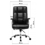 Офисное кресло GT Racer Classic X-2975 Black